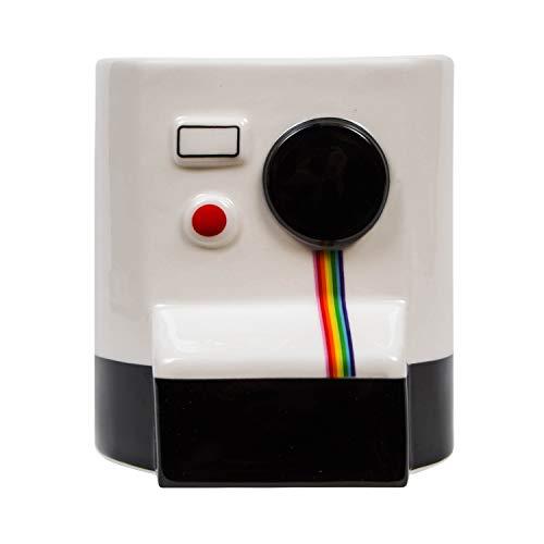 el & groove cámara Retro Taza 3D de Porcelana, Taza para los fotógrafos Insta y Selfie Ventiladores, Idea de Regalo, Estudio de fotografía Deko, Vintage