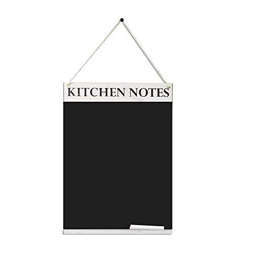 Chalkboards UK Kitchen Notes lavagnetta, Legno, Bianco Washed