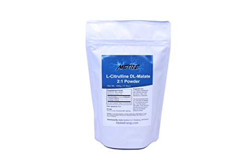 L-Citrulline DL-Malate (2:1) Bulk Powder – 500g   for Athletic Endurance, Recovery and Energy