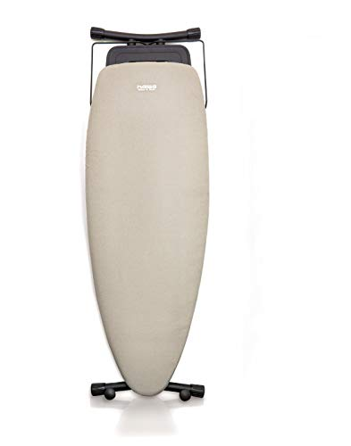NAWA Home & Work - Planche à repasser de première qualité, surface de repassage 130 x 47cm, forme ovale pour centre de repassage ou conventionnel