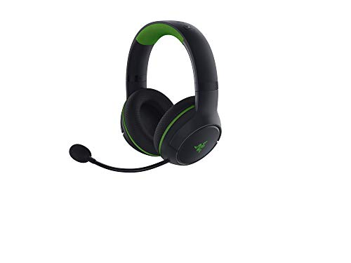 Razer Kaira - Kabellose Gaming Kopfhörer für Xbox Series X / S + Xbox One + PC (Wireless Headset, 50-mm-Treiber, Kardioid-Mikrofon, Xbox Wireless) Schwarz-Grün
