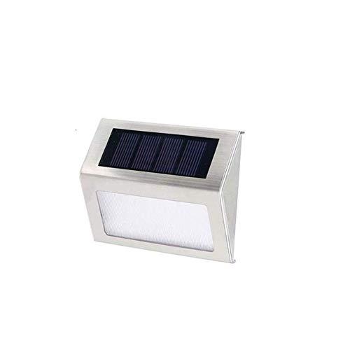 Lampade Da Esterno Solari Luce Esterna A Energia Solare Lampada Led Solare Da Esterno Luci Solari Giardino Luci Del Recinto Del Giardino Ad Energia Solare Luci Solari Da Parete Per Este 1pc,white