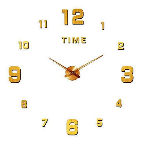 Orologio da Parete Silenzioso Preciso Fai da Te, Orologio Parete Moderno Decorazione, Grande...