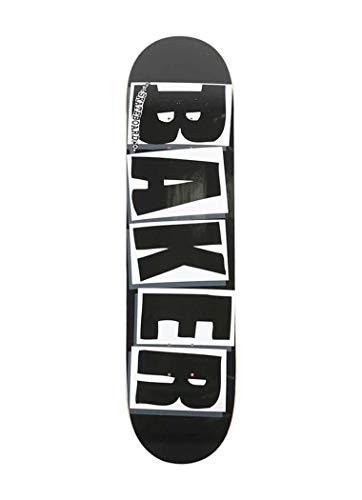 Baker Brand Logo Black / White Skateboard Deck - 8.25' x 31.875'