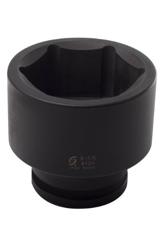 Sunex 6124 1-1/2-Inch Drive by 3-7/8-Inch Impact Socket