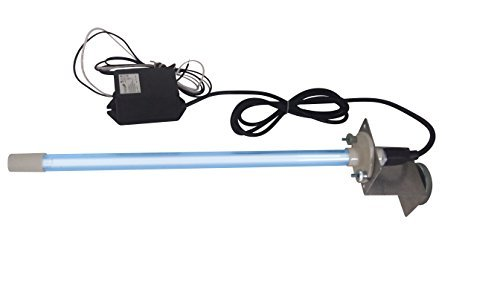 24 Volts Power Input! Pureuv 14' Bulb Uv Light Coil Cleaner for Ac HVAC Coil 24v Germicidal Bulb with Magnet.