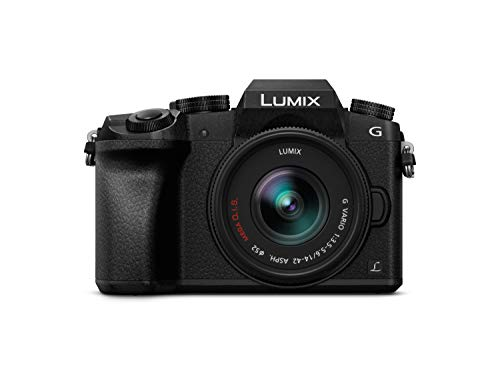 Panasonic Lumix DMC-G7KEC - Cámara EVIL de 16 MP, Pantalla 3',...
