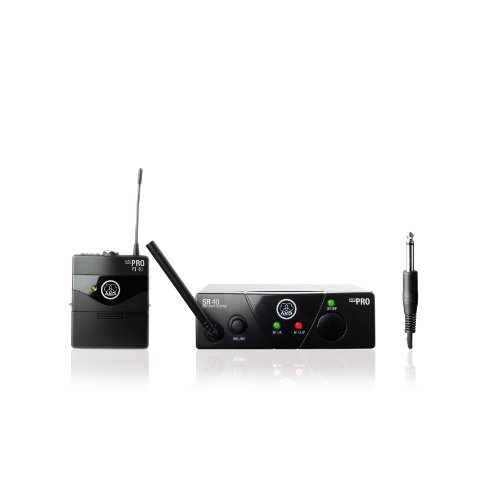 AKG WMS 40 Mini Wireless Instrument System (US 45 B, 661.100 MHz)
