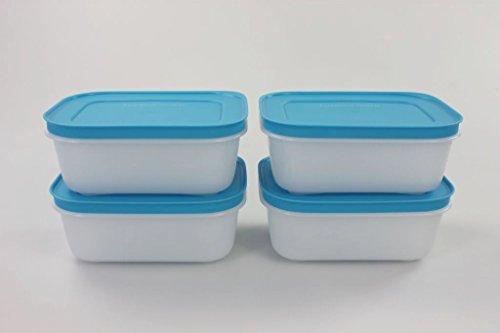 TUPPERWARE Congelatore Mates Piccolo Basso 450 ml blu (4) 11283