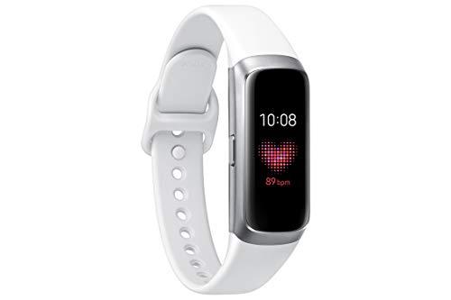 Samsung Galaxy Fit, Fitnesstracker, silber, mit Bluetooth, Farbdisplay, Pulsmesser und Schlafanalyse