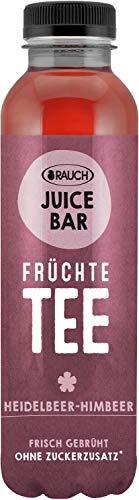 Rauch Juice Bar Früchtetee Heidelbeer Himbeer ohne Zucker, 12 x 500ml inc. 3,00€ EINWEG Pfand