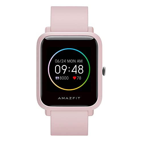 Amazfit Bip S Lite Smartwatch Ftiness Reloj Inteligente Deporte Pantalla Transflectiva Siempre Encendida Duración de la batería 30 días Monitoreo del sueño Y Frecuencia...