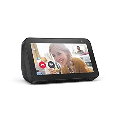 """Alexa can show you more – Compact 5.5"""" smart display ready to help manage your day, entertain at a glance, and connect you to friends and family. Made to fit your life – Cook along to step-by-step recipes. Easily update to-do lists and calendars. Cho..."""