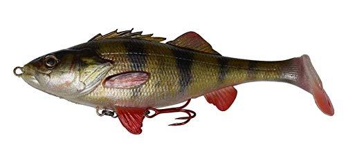 Savage Gear 4D Perch Shad, Affondamento Lento, Perch