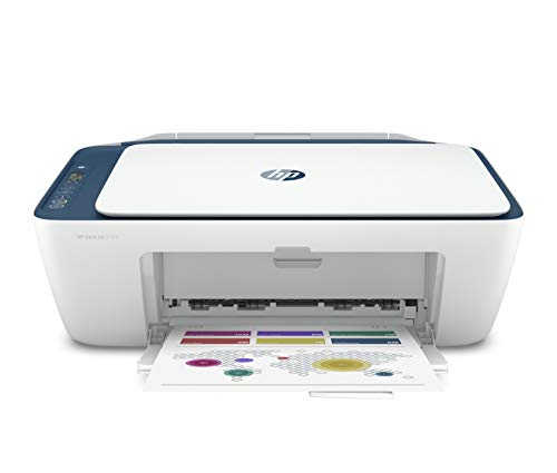 HP Deskjet 2723 WiFi Colour Printer, Scanner and Copier for Home/Small Office, Dual-Band Wi-Fi,...