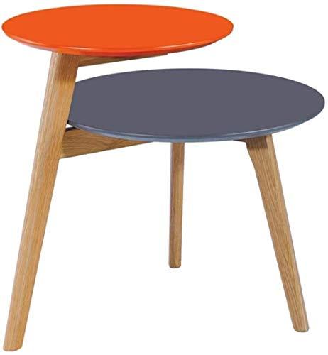 N Tavolino da caff Tavolino Tavolino in massello Doppia Bagagli Living Room Divano Comodino 60cm *...