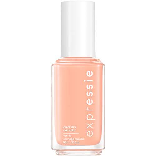 essie expressie Quick-Dry Vegan Nail Polish, All Things Ooo, Pastel Peach, 0.33 Ounce