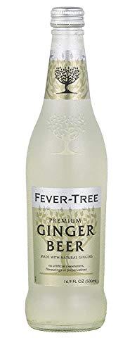 Fever-Tree Ginger Beer – Pack of 8 500mL Bottles