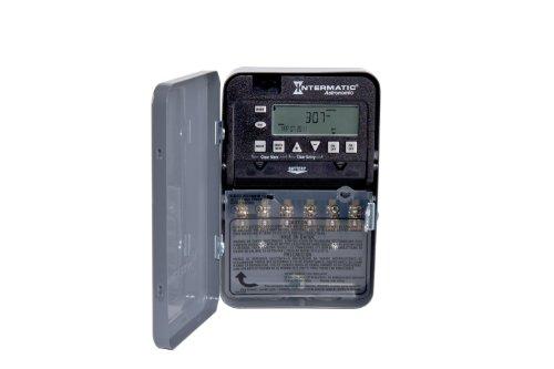 Intermatic ET8215CR NEMA 3R-120-Volt-277-Volt SPST 2 Circuit with...