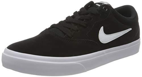 Nike Herren Nike Sb Charge Suede Walking Shoe, Black White Black, 44 EU