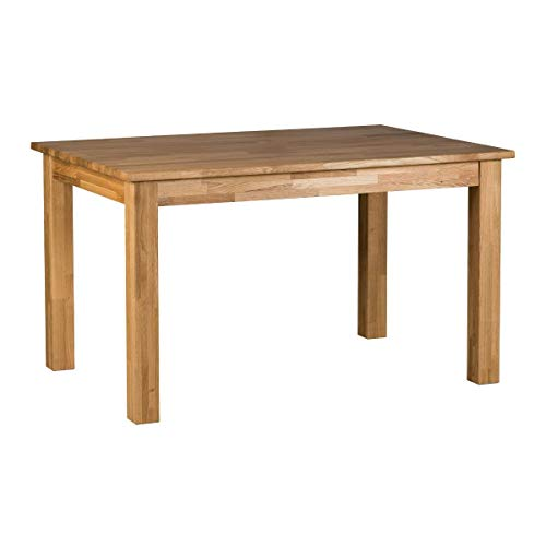 Marchio Amazon -Alkove Hayes - Tavolo da pranzo fisso classico, 110 x 70 x 75 cm, quercia silvestre
