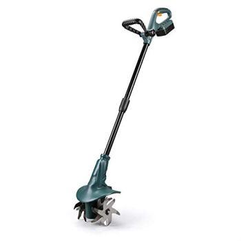 East Power Tools FISHTEC ® Motobineuse sans Fil - Batterie Lithium -18V - Profondeur Maxi : 8 cm - Largeur Maxi : 20 cm