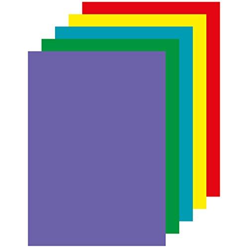 APLI 15279 - Papel color surtido intenso A4 100 hojas