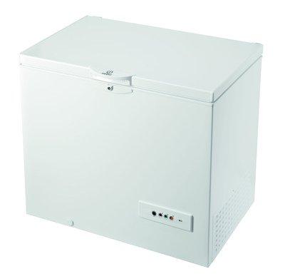 Indesit - Congelatore Orizzontale OS 1A 250 H Classe A+ Capacit Netta 251 Litri Colore Bianco
