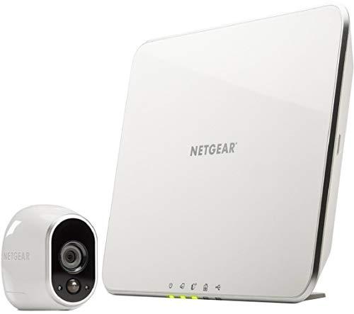 31oTmC8rzJL [Bon plan Arlo ] Caméra de surveillance Wifi Sans fils, Pack de 1 HD Jour/Nuit, Etanche IP65, Intérieur/Extérieur, Fixation A...