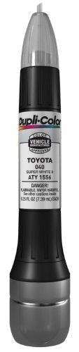Dupli-Color ATY1556 Super White II Toyota Exact-Match Scratch Fix All-in-1 Touch-Up Paint - 0.5 oz.