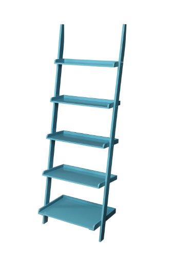 2. Convenience Concepts Bookshelf Ladder