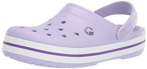 Crocs Crocband U, Zuecos Unisex Adulto, Morado (Lavender-Purple 50q), 39-40 EU