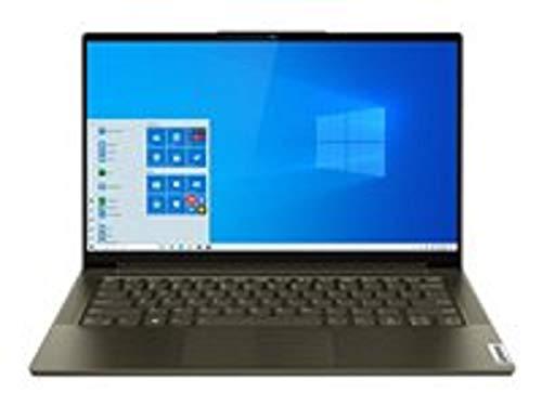 "Lenovo Yoga Slim 7 Gris Portátil 35,6 cm (14"") 1920 x 1080 Pixeles Intel® Core i5 de 10ma Generación 8 GB LPDDR4x-SDRAM 512 GB SSD Wi-Fi 6 (802.11ax) Windows 10 Home Yoga Slim 7, Intel"