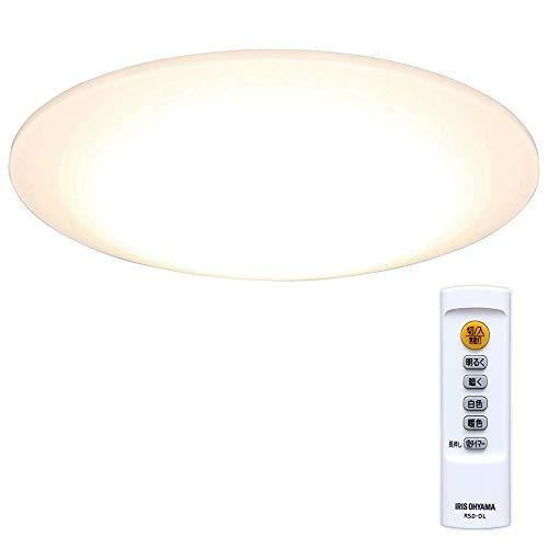 アイリスオーヤマ LEDシーリングライト 調光/調色 ~6畳 (日本照明工業会基準) 3300lm 直径45cm リモコン 省...