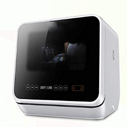 ZXCVB Desktop lavastoviglie for uso domestico installazione automatica libera mini macchina Piccolo...