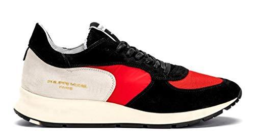 Philippe Model Montecarlo L U - Mondial Rouge Uomo Sneakers NTLU XT05 46