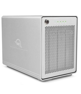 OWC Mercury Elite Pro Quad RAID 5 Four-Bay External Storage Enclosure