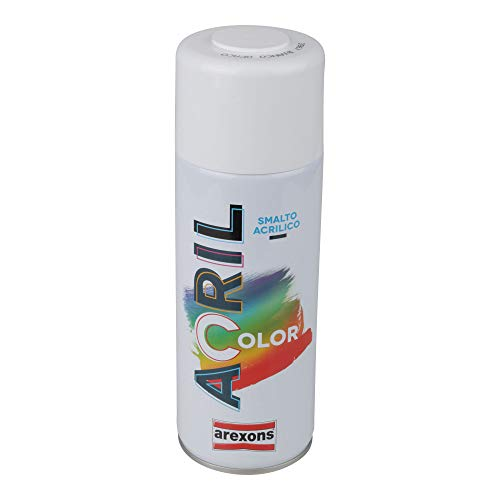 Arexons RXS112 3960 Acrilcolor, Bianco Opaco, 400 ml
