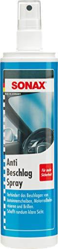 SONAX AntiBeschlagSpray (300 ml) Antibeschlag-Schutz für alle Glasscheiben und Kunststoffscheiben sorgt für eine rundum klare Sicht   Art-Nr. 03550410