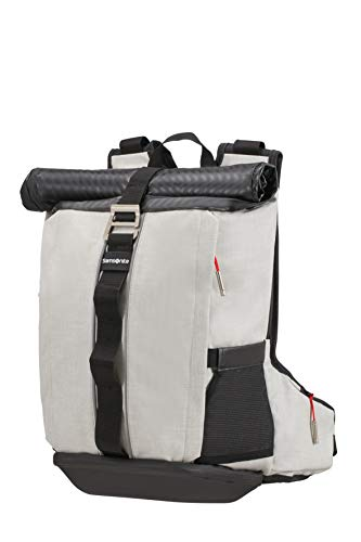 Samsonite 2Wm Zaino Porta PC M 15.6 Pollici - Roll Top, 64 cm, 20 L, Bianco (White)