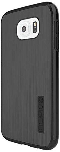 Incipio SA-612-BLK Samsung Galaxy S6 Case, [Protective] DualPro Shine Case for Samsung Galaxy S6-Black/Black
