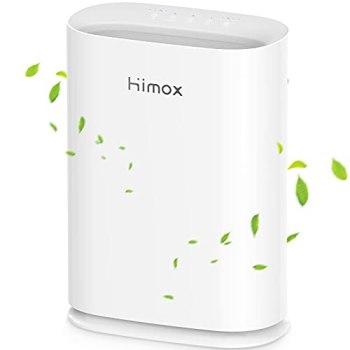 HIMOX H05 Purificador de Aire con Filtro HEPA H13 de Medical Grade, CADR 285m³/h a 80m², Elimina 99,97% de Virus, Bacterias, Alérgenosy, Humo, Olores, Polen