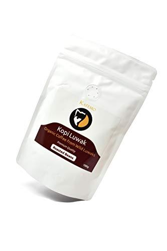 Kopi Luwak Premium (Kaffee von freilebenden Tieren) - Geröstete Kaffeebohnen
