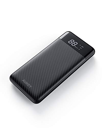 AUKEY Portable Charger USB C, 10000mAh Power Bank with PD 18W, USB C External Battery Pack, iPhone Fast Charger with iPhone 11, Samsung Note 10 etc
