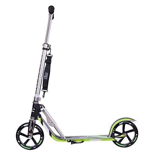 Scooter for Adults - HUDORA Foldable Adult Kick Scooters with Big Wheel Quick-Release...