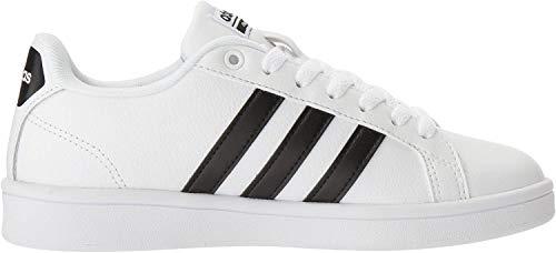 adidas Women's Shoes | Cloudfoam Advantage Cl Sneakers, White/Black/White, (7.5 M US)