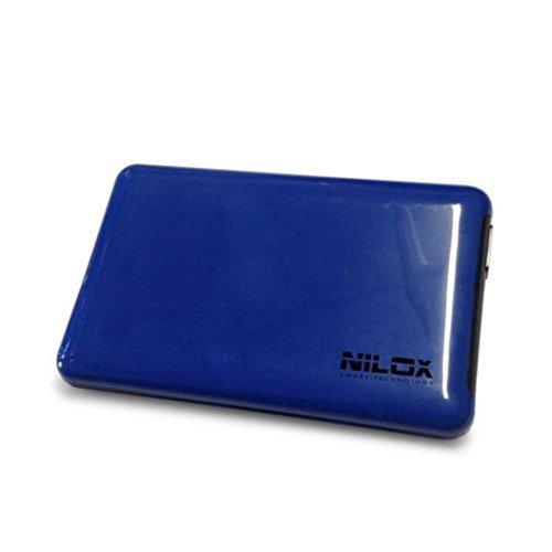 Nilox - Case Esterno Box Vuoto per Hard Disk, USB 3.0, Blu