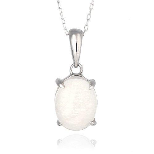 SUEHIRO ネックレス レディース 天然石 ムーンストーン ネックレス 6月 誕生石 日本製