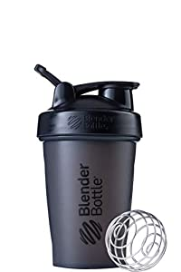 20-ounce capacity (note: measurements only go to 12 ounces) shaker cup for mixing protein shakes, smoothies, and supplements Patented mixing system uses 316 surgical-grade stainless steel BlenderBall wire whisk found only in BlenderBottle brand shake...