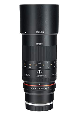 Rokinon 100mm F2.8 ED UMC Full Frame Telephoto Macro Lens for Sony E-Mount Interchangeable Lens Cameras